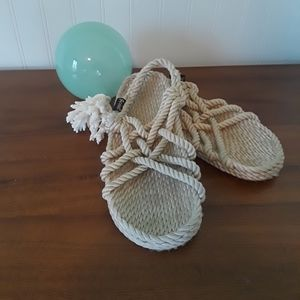 Shoes - * Gurkees Slip On Natural Neptune Sandals*Vegan